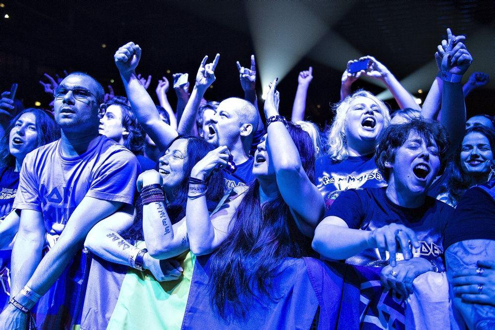 billede af publikum ved Copenhell