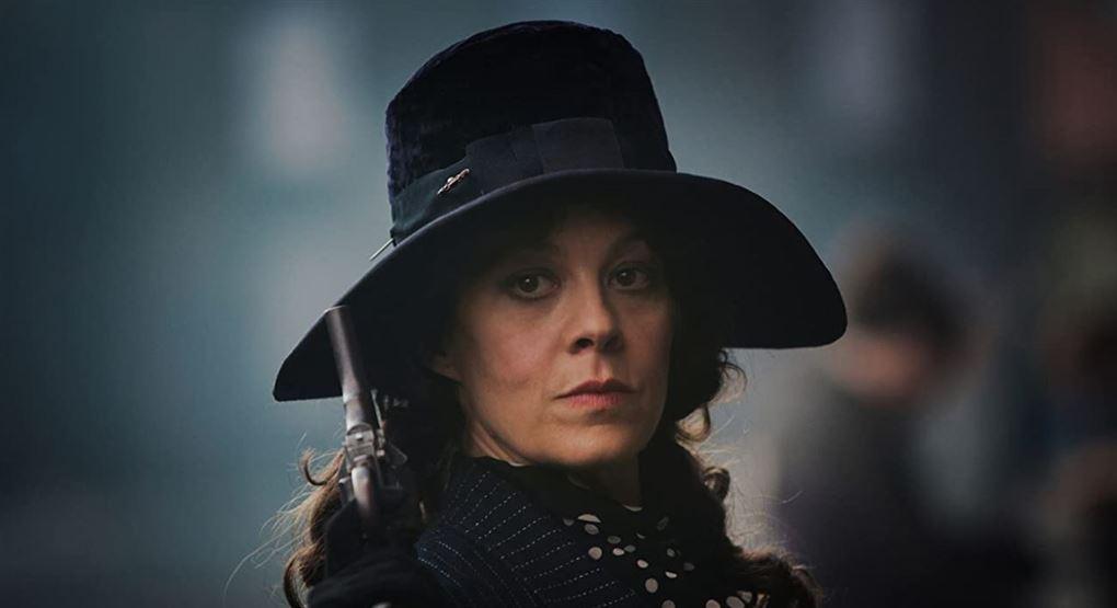 """billede af Helen McCrory i rollen som Polly Gray i """"Peaky"""" Blinders"""""""