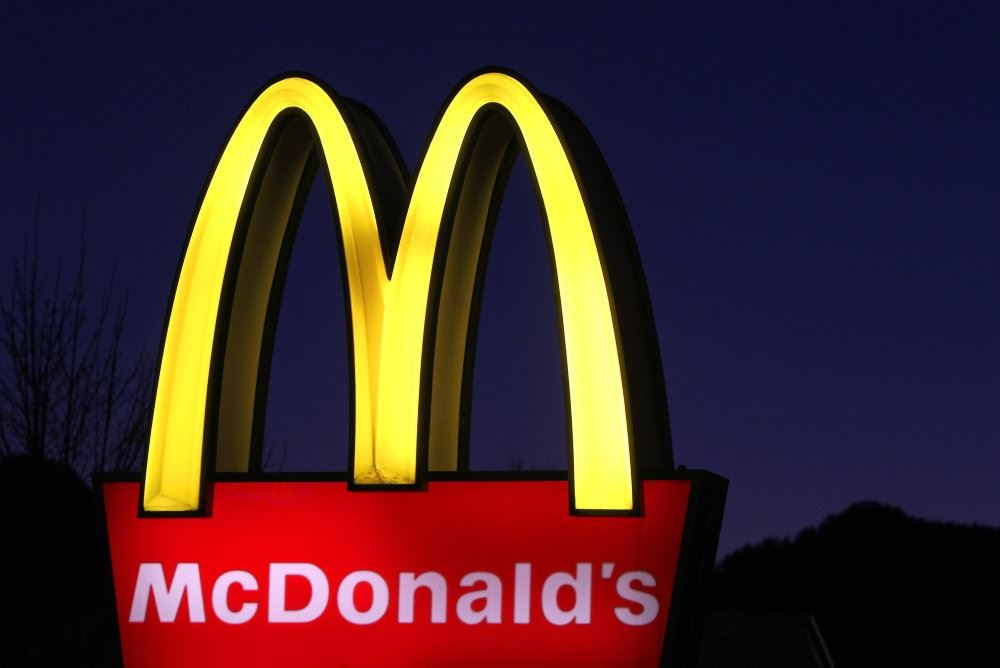 mcdonalds skilt