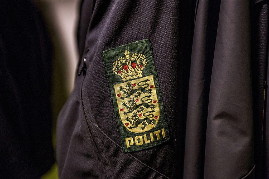 billede af en politiuniform