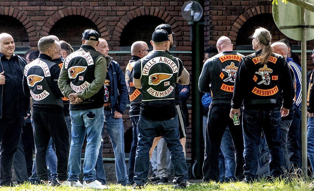 billede af bandidos-medlemmer