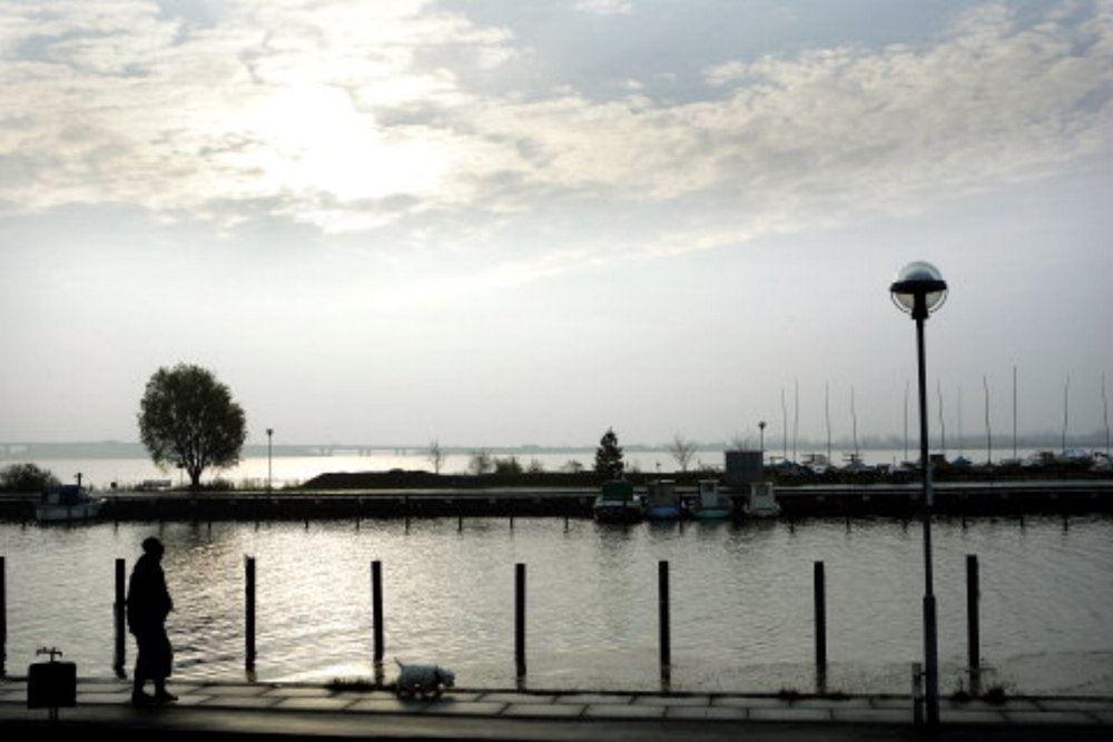 havnen i hvidovre i stille vejr