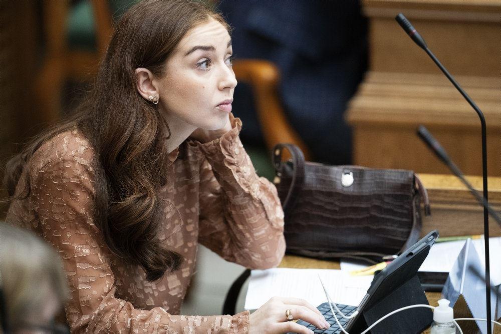 Samira Nawa i Folketinget