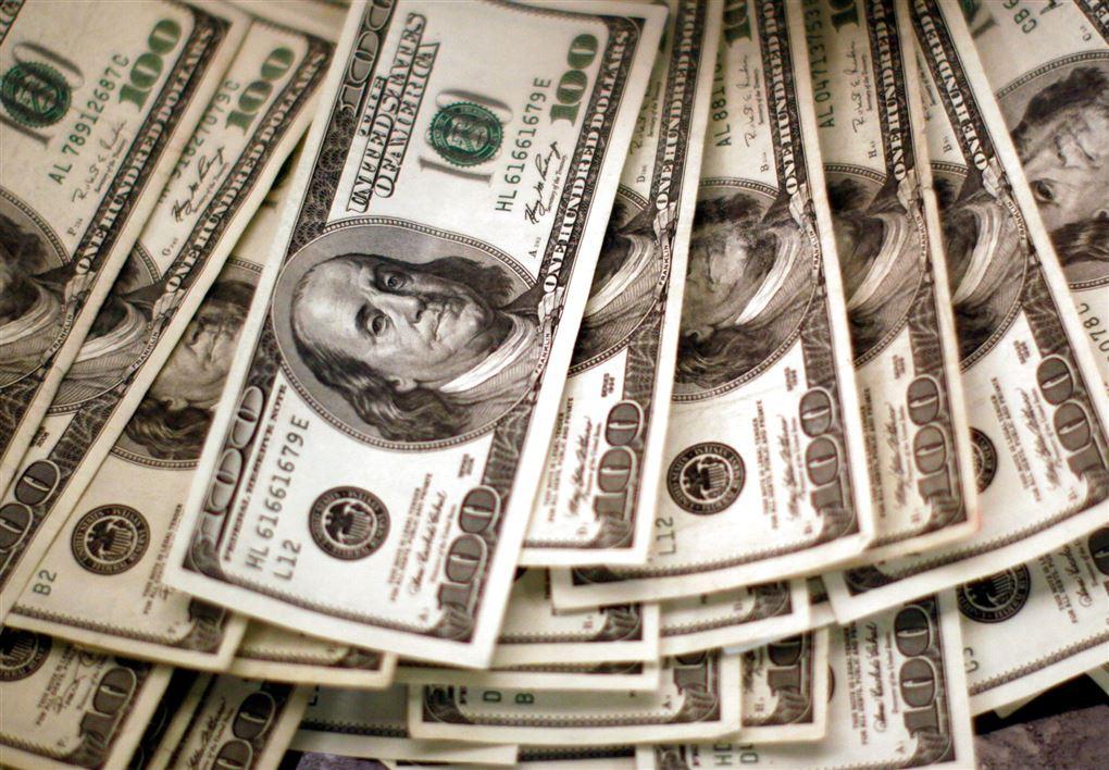 billede af dollars-sedler