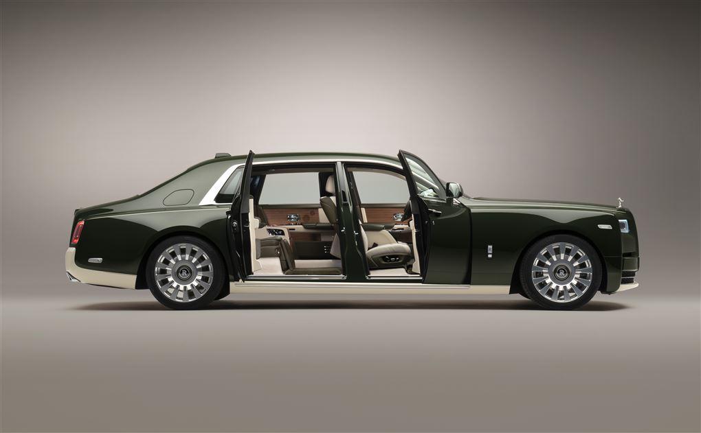 En kæmpe Rolls-Royce
