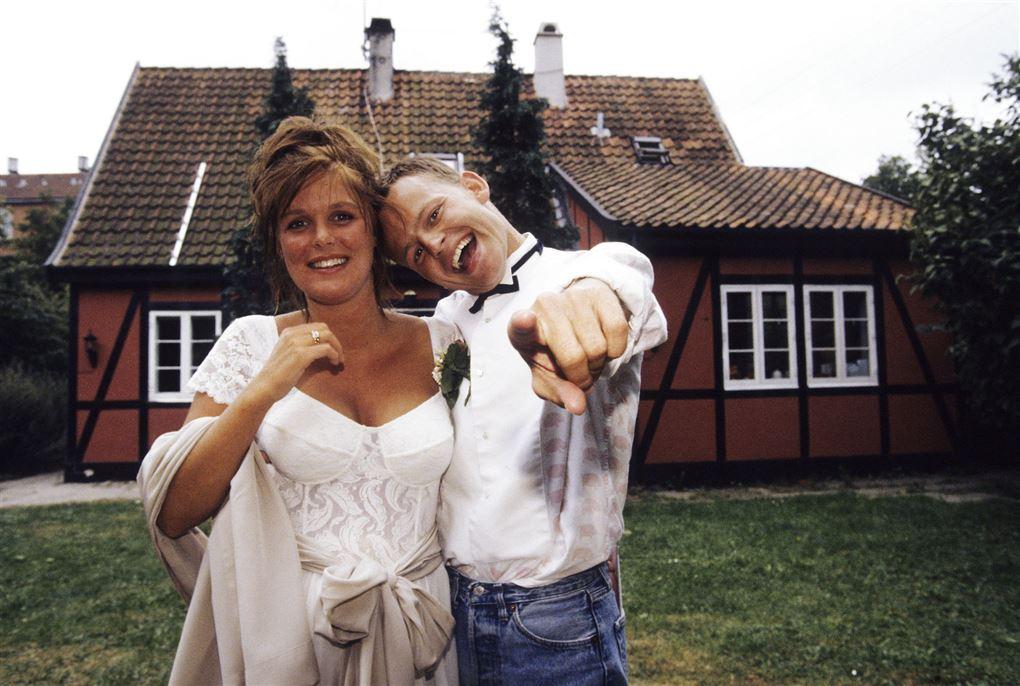 billede fra Christina Nørby Ibsens og Bubbers bryllup