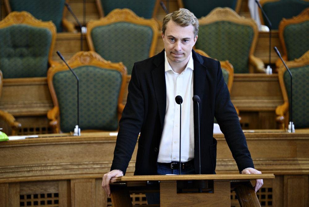Morten Messerschmidt i Folketinget