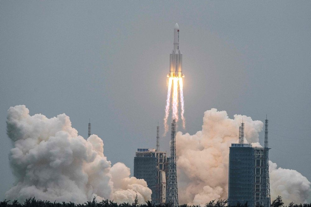 billede af raketten