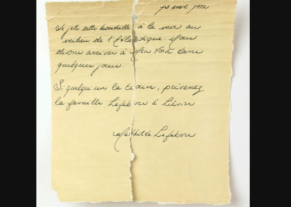 Håndskrevet brev