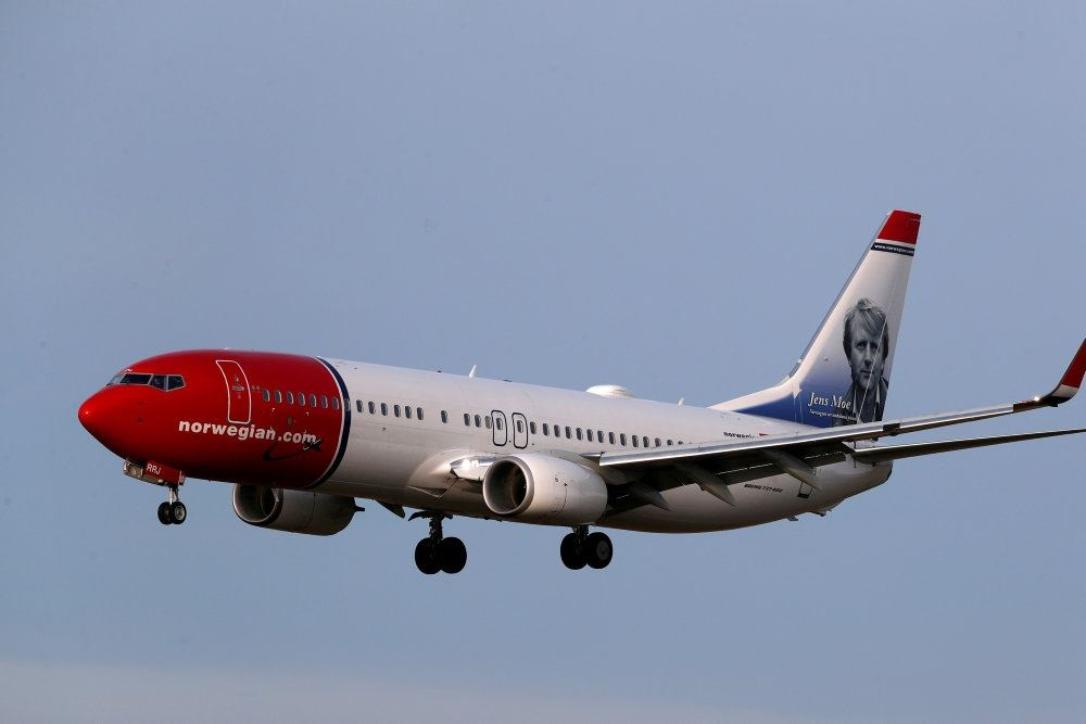 Norwegian-fly i luften