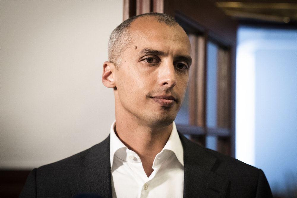 Udlændinge- og integrationsminister Mattias Tesfaye interviewes