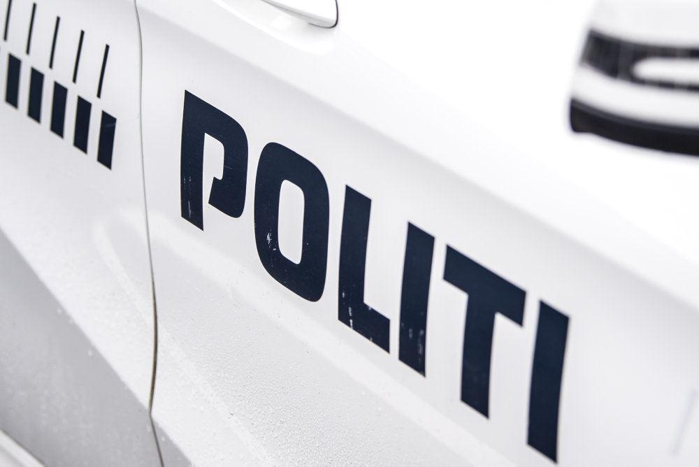en politimand