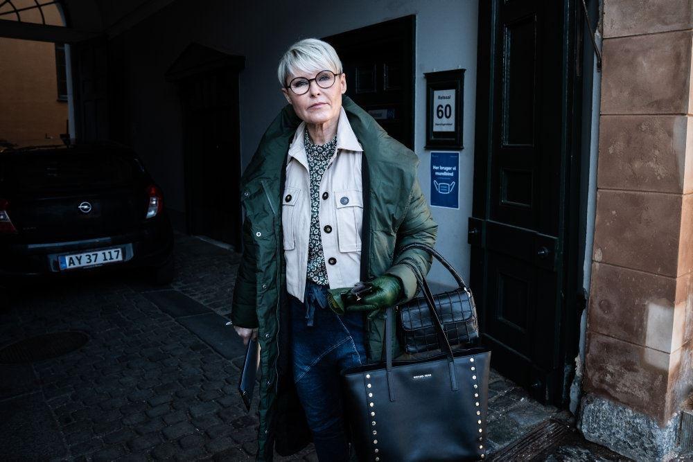 Lina Baun Danielsen i byretten