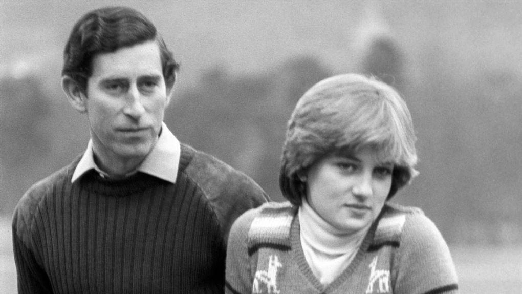 Prins Charles og Diana i 1981
