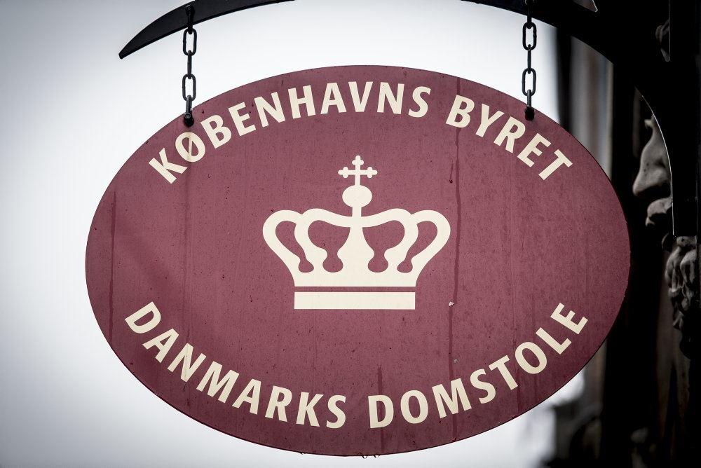skilt foran skilt foran byretten i københavn