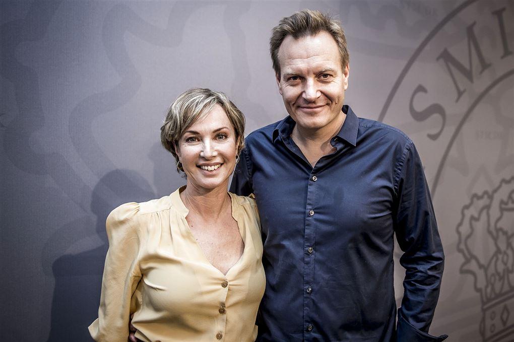 Rasmus Tantholdt og Natasja Crone