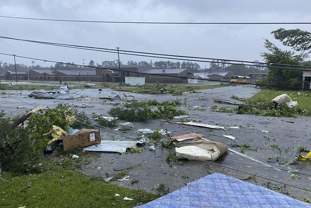 oversvømmet område i usa
