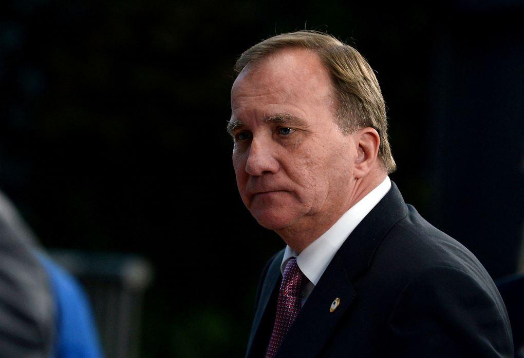 sveriges statsminister i jakke og slips