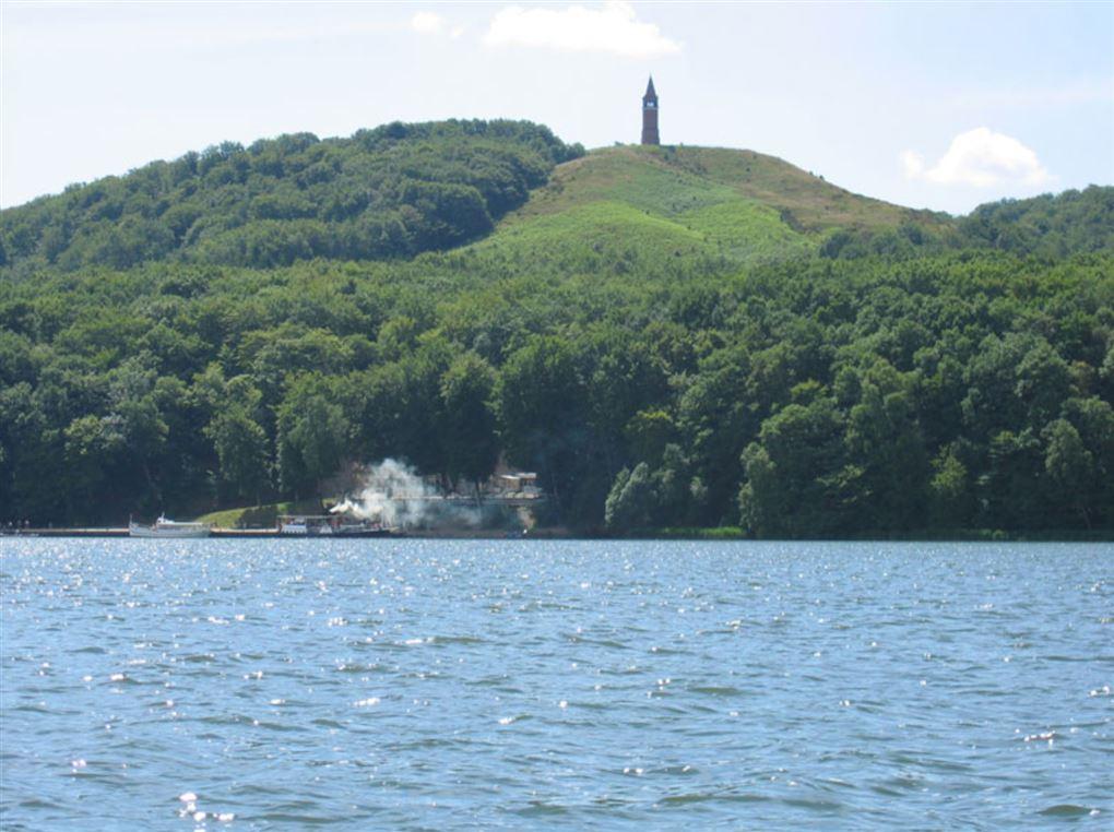 Himmelbjerget og en sø