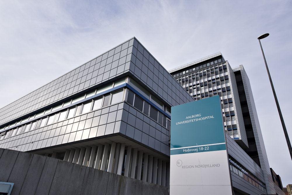 Aarhus Universitetshospital set udefra