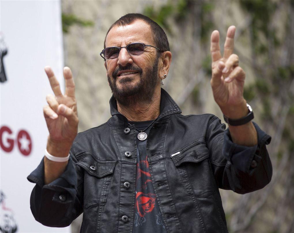 Ringo Starr lave fredstegn
