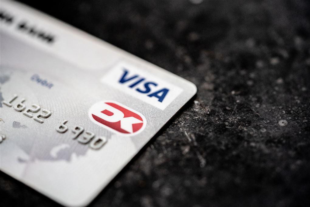 billede af et bankkort