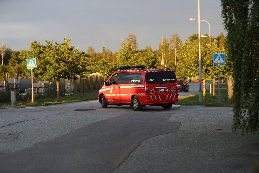 En ambulance i Sverige