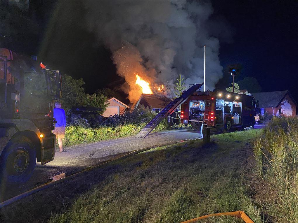 huset brænder