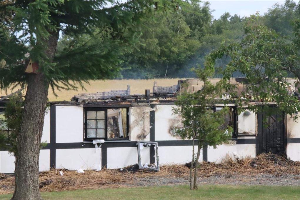 Udbrændt hus