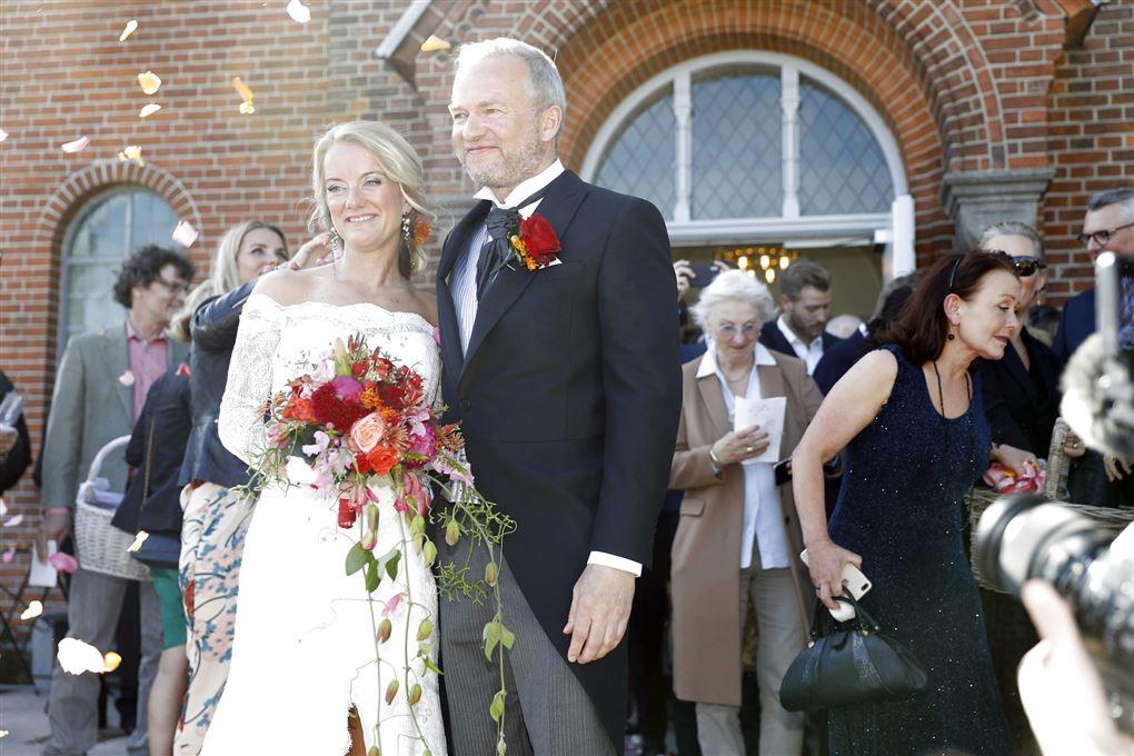 bryllup mellem Pernille Vermund og Lars Tvede