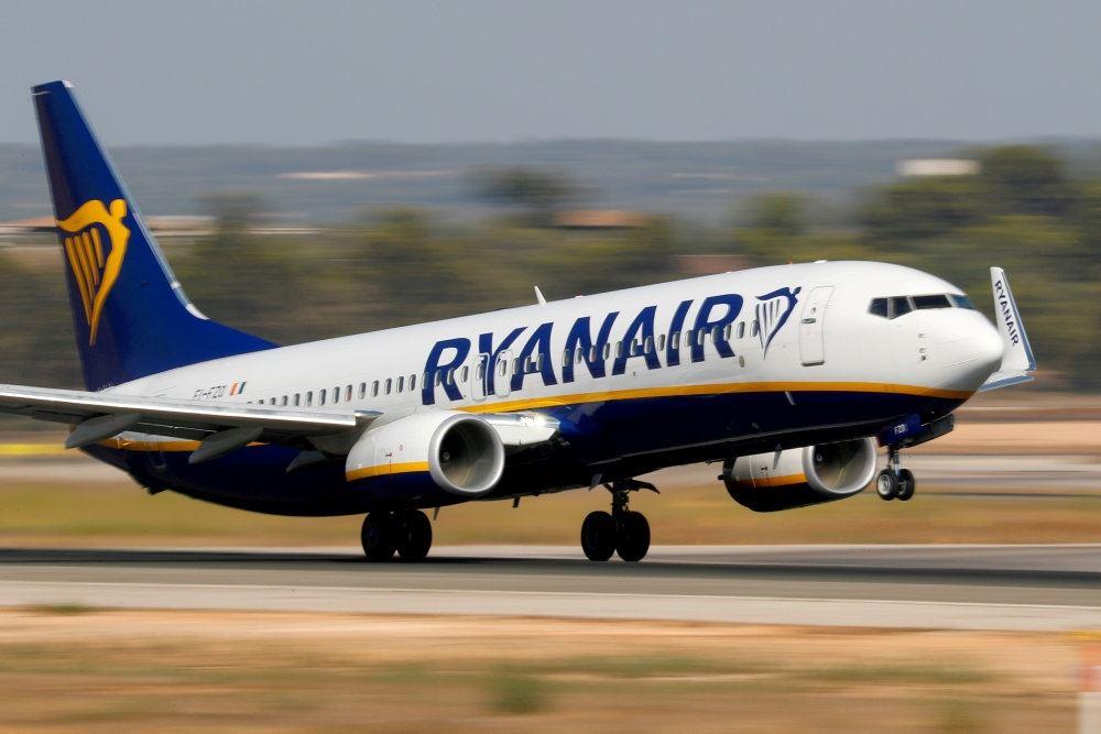 Et Ryan Air-fly letter (eller lander)
