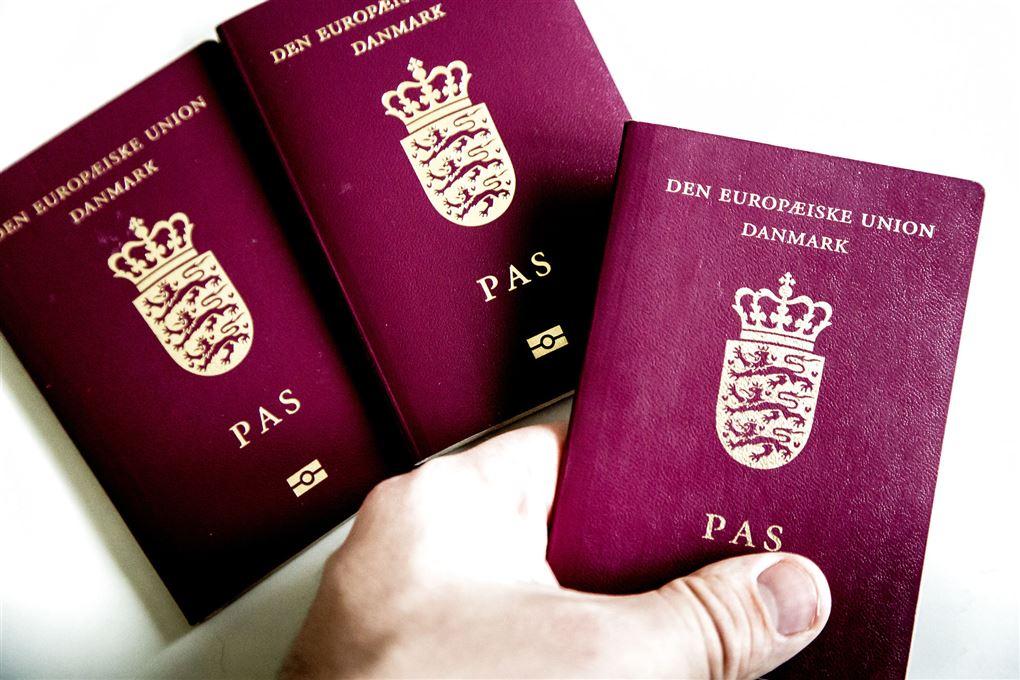 tre danske pas