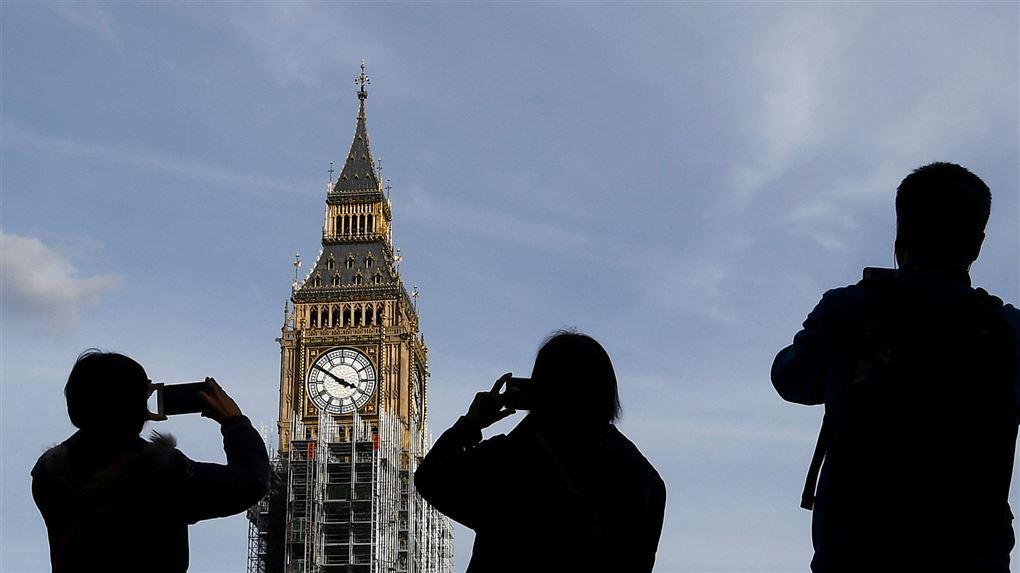 turister i London