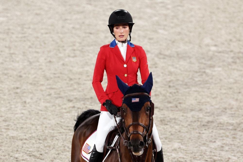 Jessica Springsteen på hest