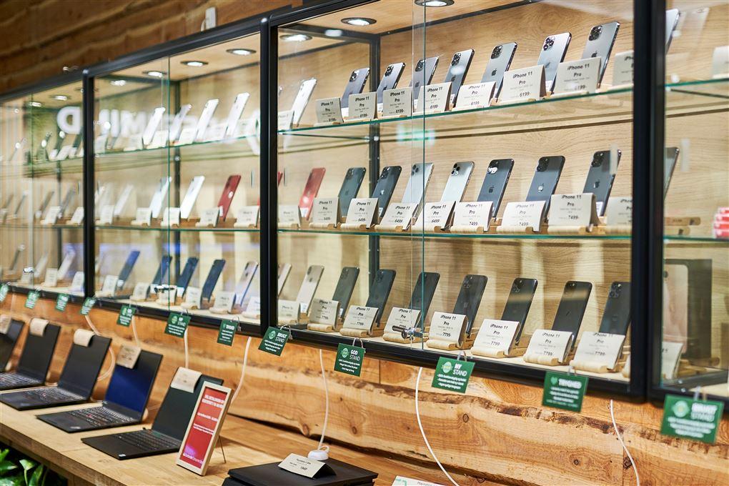 Mobiltelefoner i montre