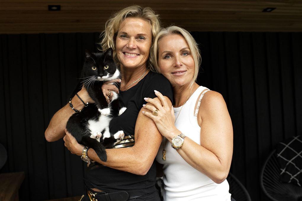 Charlotte og Christina Bøving