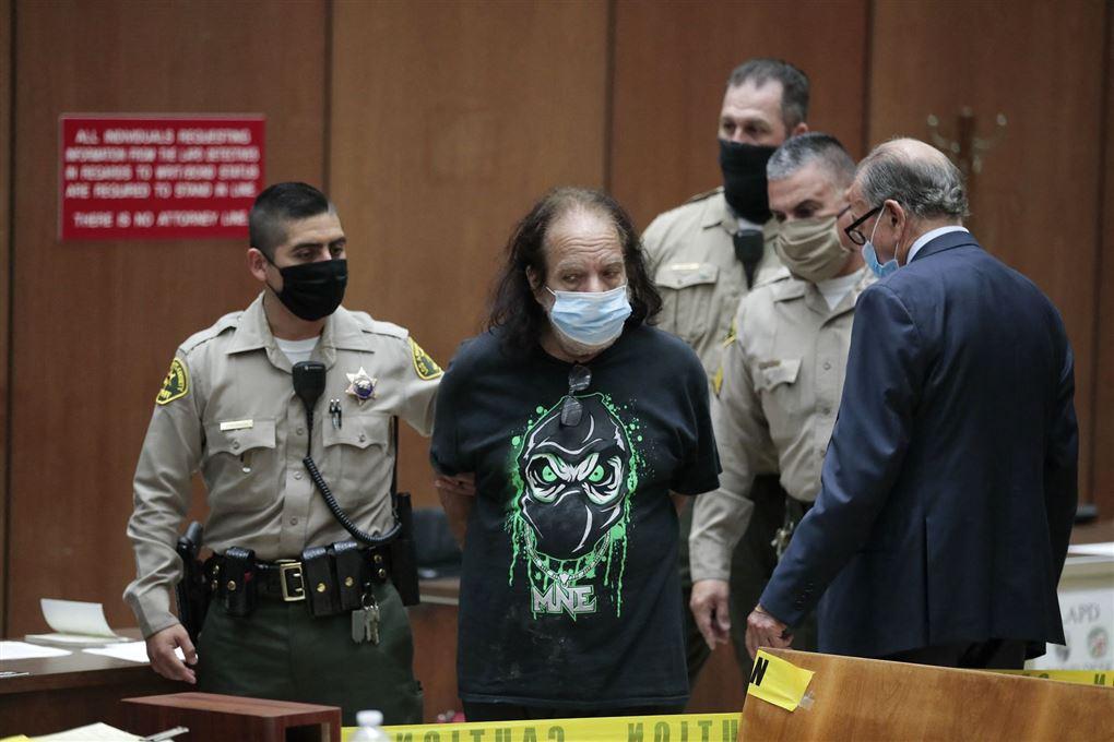 Ron Jeremy i retten
