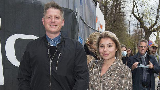 Robert Hansen og Nynne Larsen