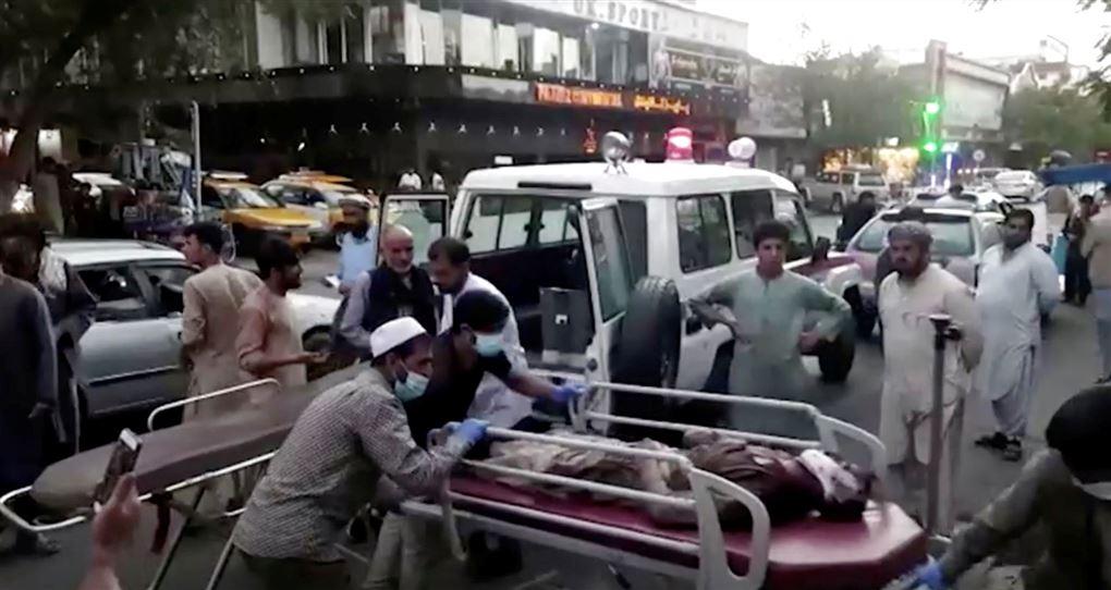 bårer ved ambulance