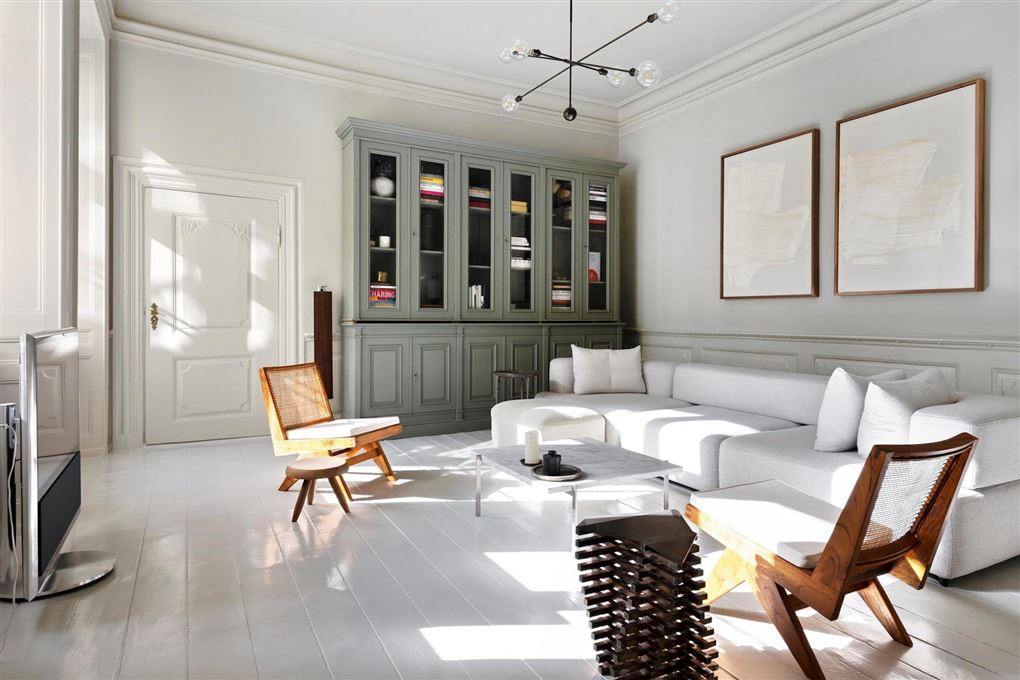 stue i Viktor Fischers lejlighed