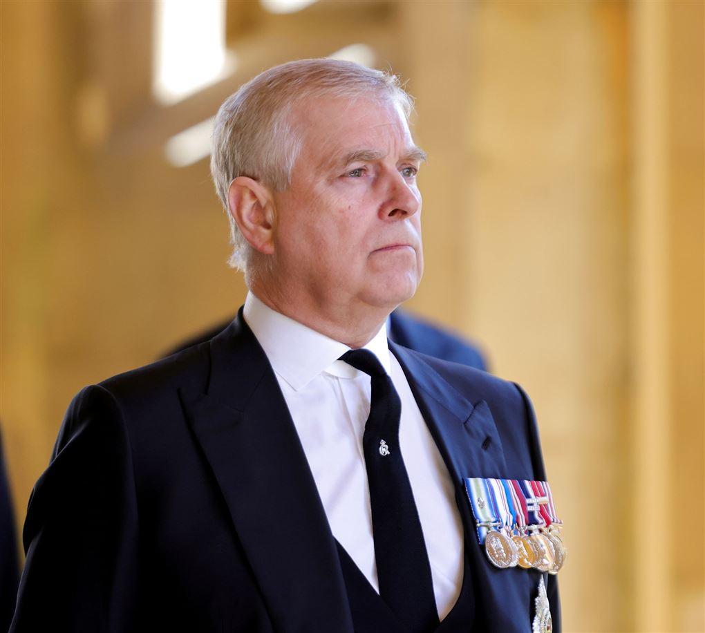 En ældre mand med medaljer