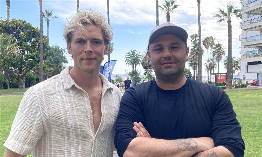 Christopher og Mehdi Avaz
