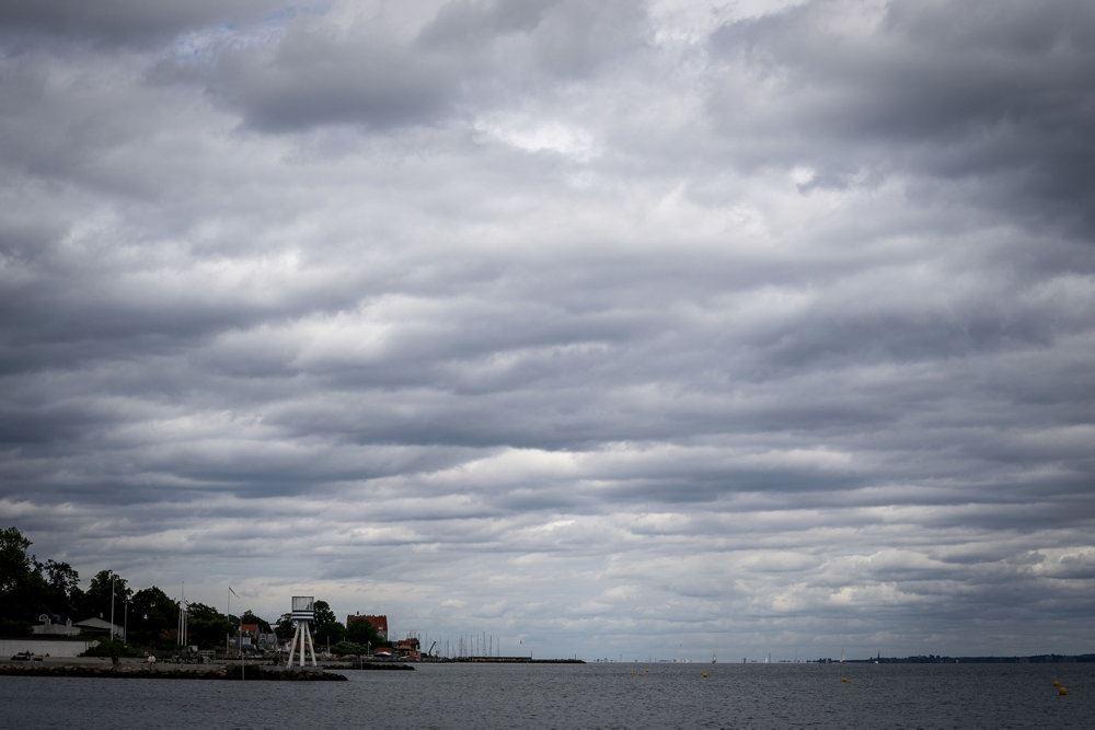 skyer på himlen