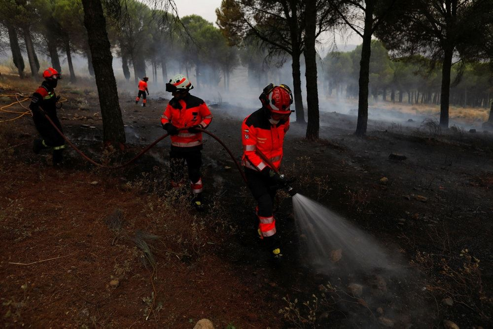 brandmænd i aktion