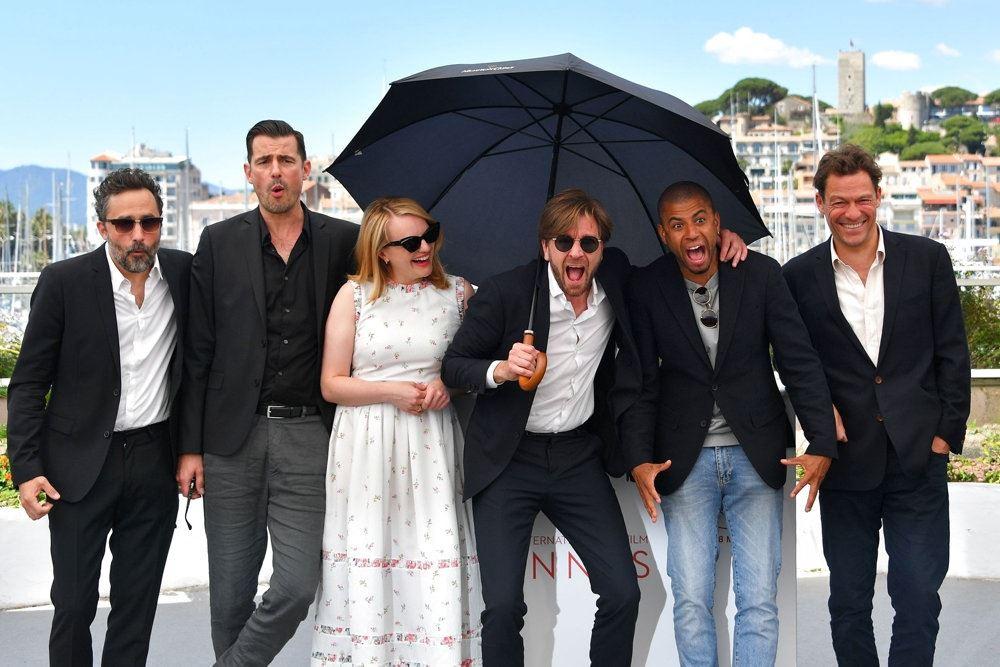 en masse danskere i Cannes