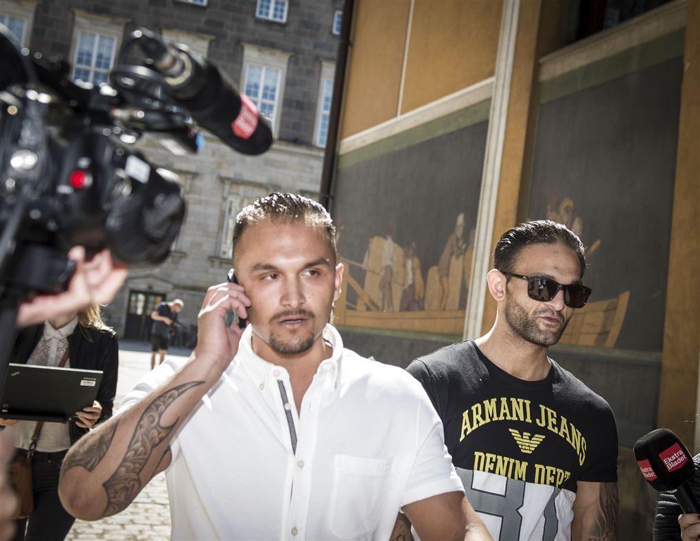 Santino og Jimmi Levakovic