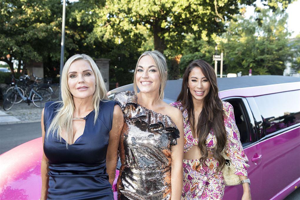 Janni Ree, Amalie Szigethy og Jackie Navarro