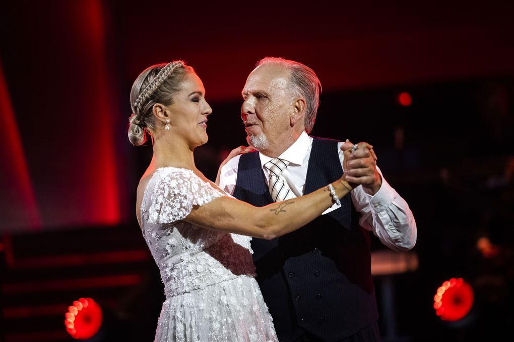 Jacob Haugaard og Camilla Dalsgaard danser