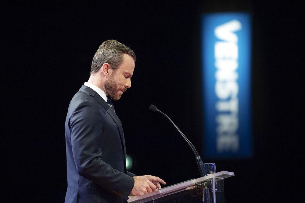 Jakob Ellemann på talerstolen