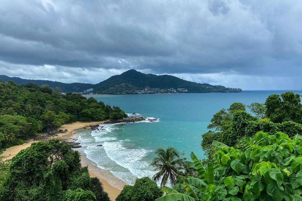 strand i thailland